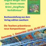 Einladung Literatur und Musik 2018