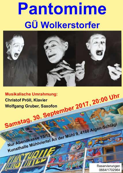 Einladung Pantomime GÜ 2017
