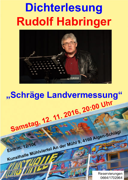 Einladung Rudi Habringer 2016