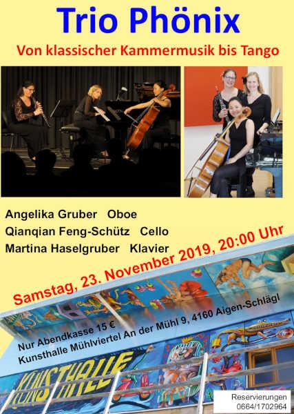 Einladung Trio Phönix 2019